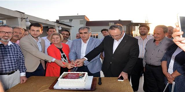 AK Parti Nilüfer'de 15. yıl kutlaması