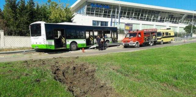 Bursa'da halk otobüsünde faciadan dönüldü