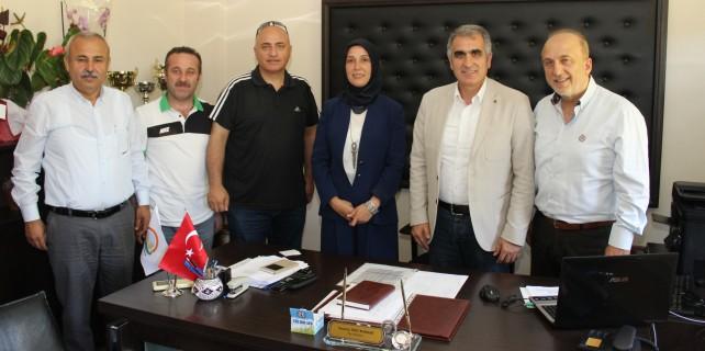 AK Parti Nilüfer'den Bozkurt'a hayırlı olsun ziyareti
