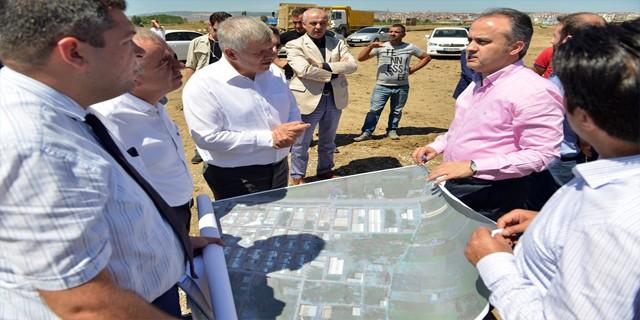 Küçük Sanayi Sitesi'nin sorunları çözülüyor