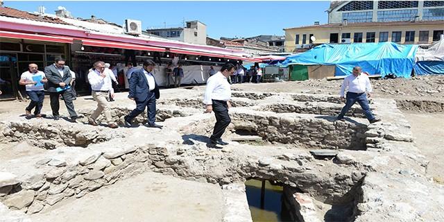 Bursa'da 600 yıllık tarih gün yüzüne çıkıyor