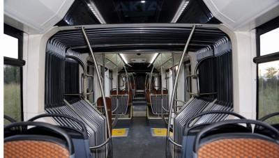 yerli metrobüs içi