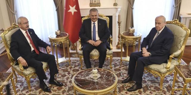Başbakanlık'ta liderler zirvesi