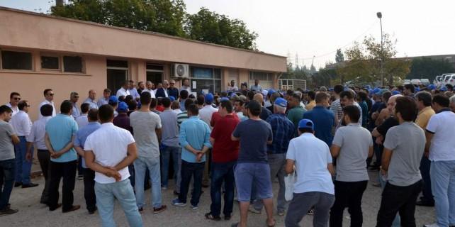 Bursa'daki dev fabrikada grev