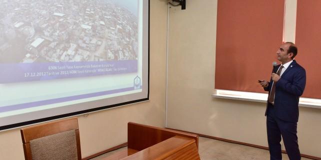 Edebali,kentsel dönüşüm projesini halka anlattı