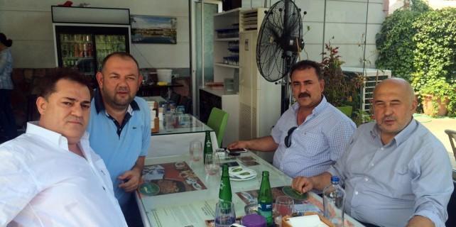 Eskişehirspor Başkanı Ünal'dan Birlikspor'a ziyaret