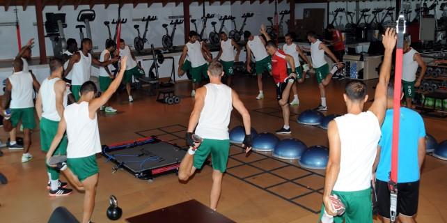 Bursaspor lig'in 2. haftasına sıkı hazırlanıyor