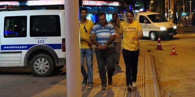 Bursa'da operasyon...FETÖ köylerde de örgütlenmiş