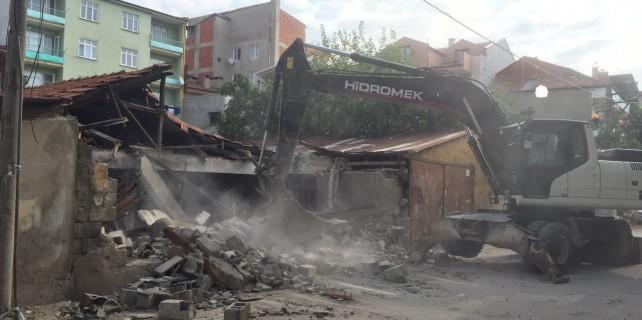 Bursa'da bu evler yıkılıyor