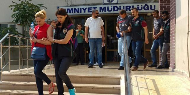 Bursa'da uyuşturucu operasyonu 9 kişi gözaltında