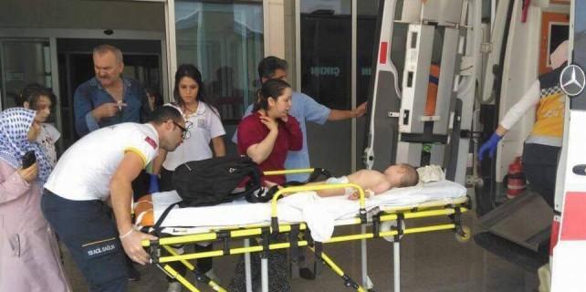 Bursa'da çok acı kaza...