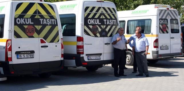 Bursa'da okul servislerinin yeni ücretleri belli oldu