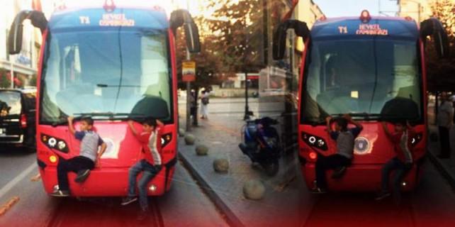 Tramvayda ölümüne yolculuk...