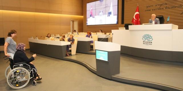 Bozbey Barış Meclisi'nde dert dinledi
