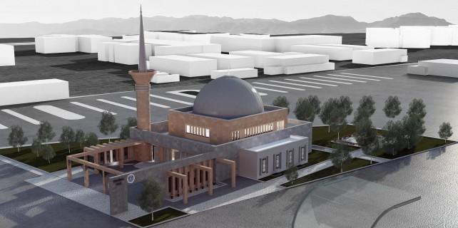 Bursa'ya bir modern cami daha