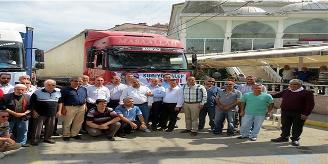 Mudanya'dan Türkmenlere yardım