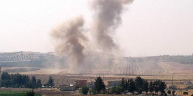 Karkamış'ta 2 büyük patlama