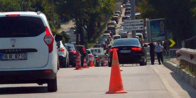 Bursa trafiğine 30 Ağustos ayarı