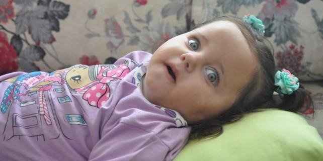 Bursa'da yaşayan Medine bebeğin dramı