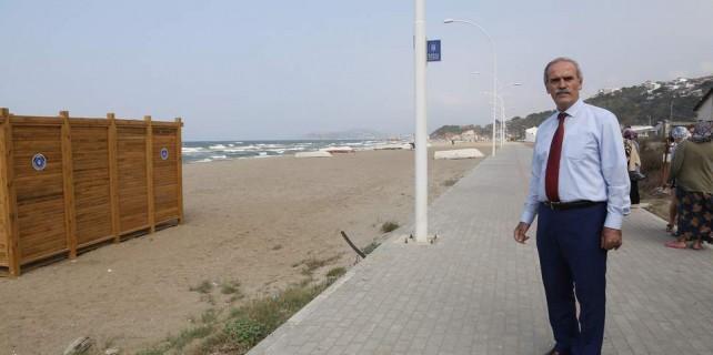 Bursa'nın bir sahili daha yosun ve çöplükten kurtarıldı