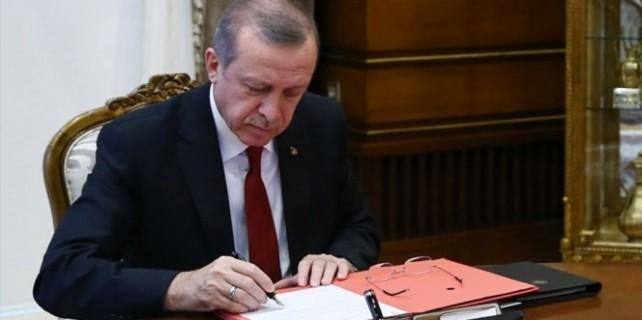Cumhurbaşkanı Erdoğan gece yarısı onayladı...