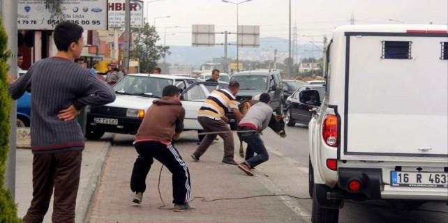 Bursa'da bu kurallara uymayanlar yandı...
