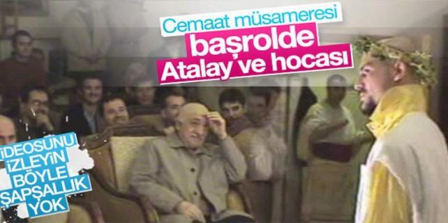 Atalay Demirci'den FETÖ'ye özel gösterinin kasedi çıktı