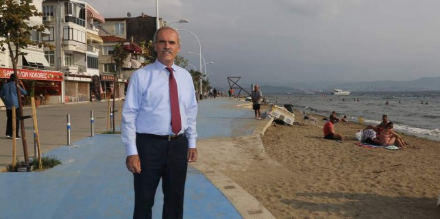 Bursa'da bir sahil daha güzelleşti