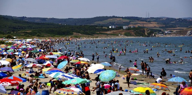İşte Bursa sahillerinde yapılan son ölçüm...