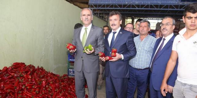 Bursalı biber üreticisine bayram piyangosu