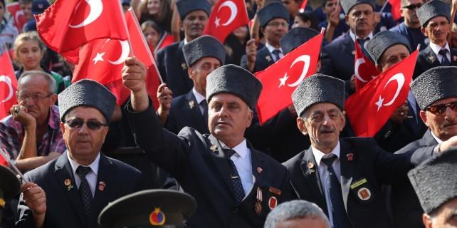 Bursa'da 94. kurtuluş coşkusu