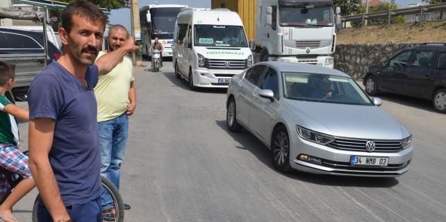 Bursa'da köylüler çileden çıktı..!