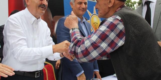 Eski ve yeni bakanlar Bursa'da buluştu