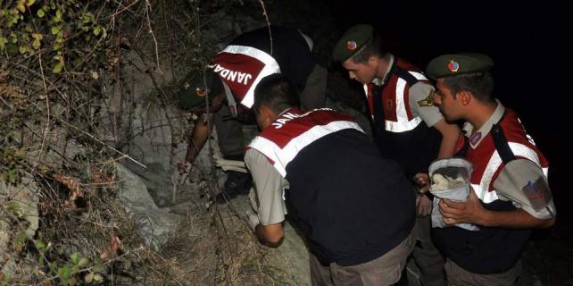 Bursa'da vahşet...Baraj kenarında insan iskeleti bulundu