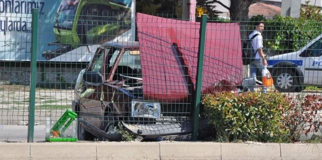 Polis otosu kaza yaptı...Çok sayıda yaralı var