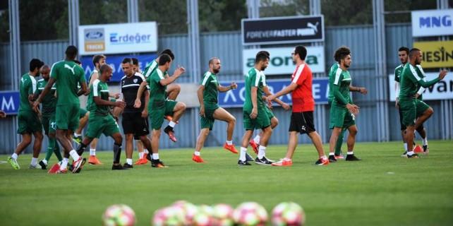 Bursaspor'da kupa mesaisi başladı