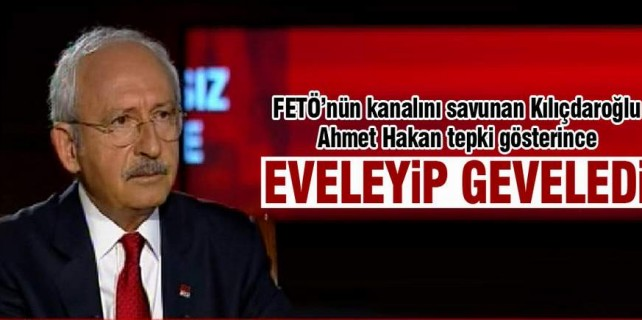 Kılıçdaroğlu ne diyeceğini bilemedi...