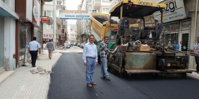 Gemlik Gazhane Caddesi'ne makyaj