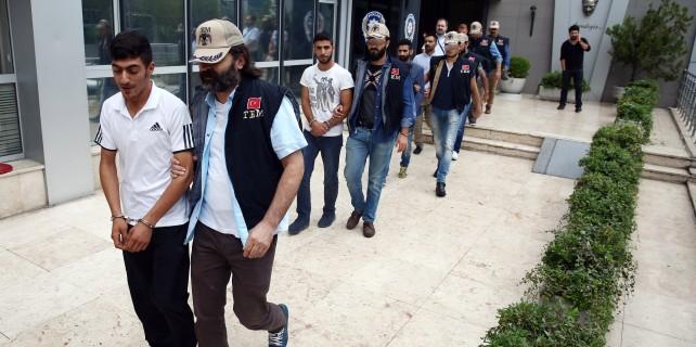 Bursa'da PKK propagandasına gözaltı