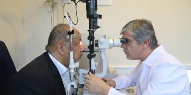 Kuveytli iş adamı göz sağlığına Bursa'da kavuştu