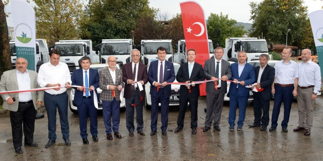 Osmangazi Belediyesi araç filosunu yeniliyor