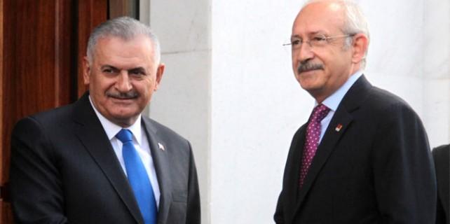 Kılıçdaroğlu ilk kez AK Parti Genel Merkezi'nde