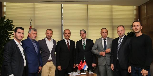 Bursa'dan Preşova'ya destek