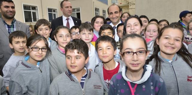 Bursa'da çocukların yüzü gülüyor