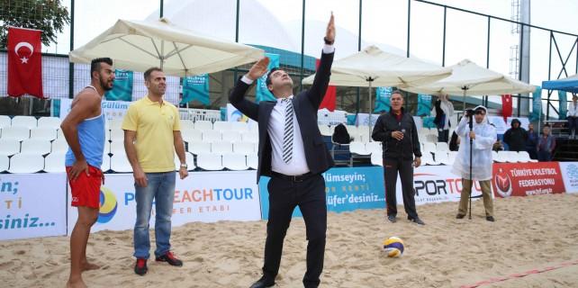 Pro Beach Tour Nilüfer etabı başladı