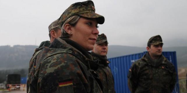 Alman askerleri Irak'tan ayrılıyor