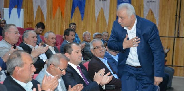 Orhaneli AK Parti'de barış rüzgarı