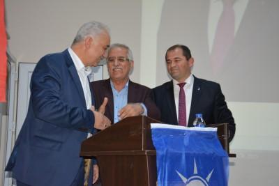 ORHANELİ AK PARTİ İLÇE DANIŞMA TOPLANTISINDA BARIŞ RÜZGARI