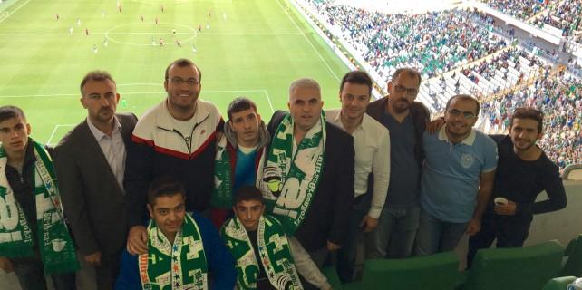 UEDAŞ, Timsah Arena'da özel çocukları ağırladı