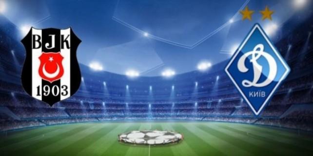 Beşiktaş Dinamo Kiev maçı saat kaçta,hangi kanalda?